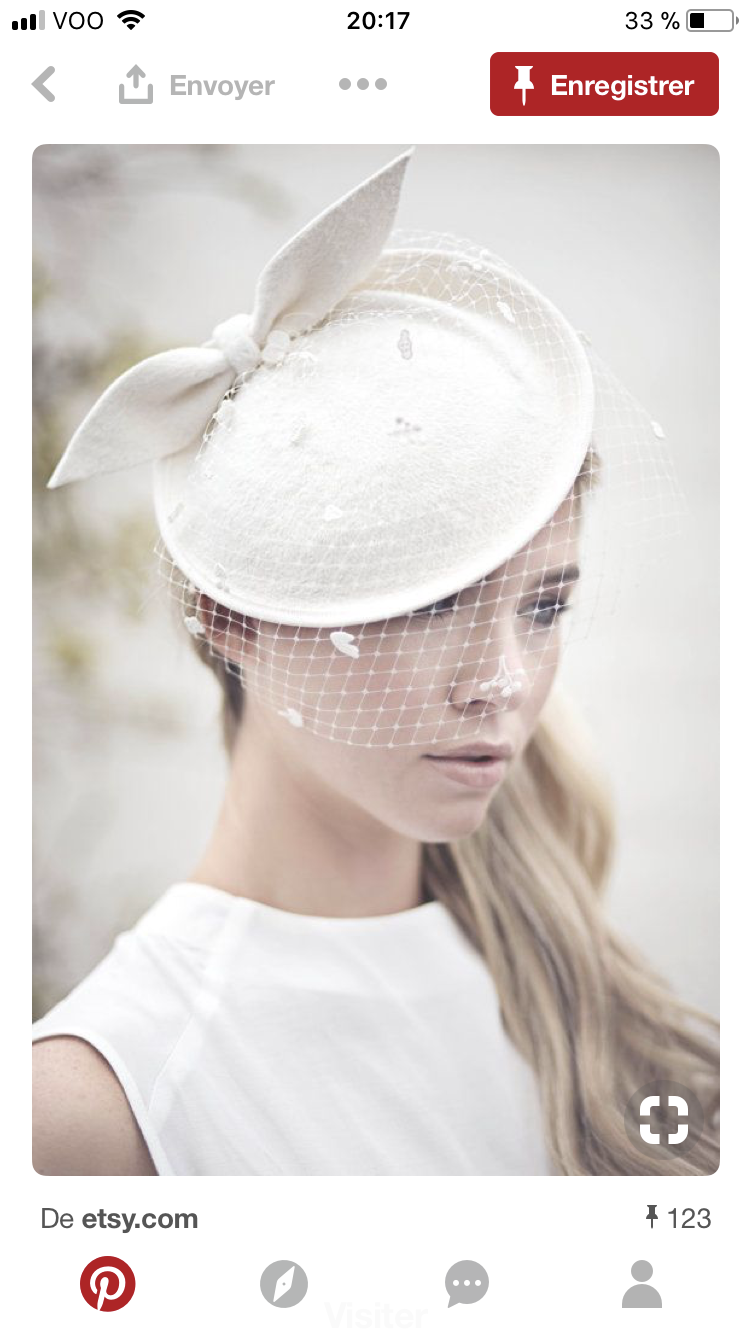Handmade Design Ivory Veil Top Hat Vintage Lace Bowler Pearl Mesh Fascinator Hair Clips For Women Ladies Royal Party Headwear Women's Hair Accessories