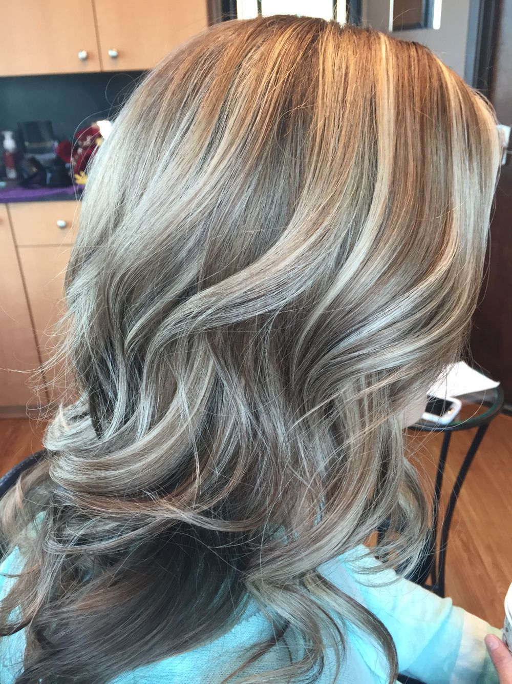 Highlight Lowlight Warm And Cool Tones Gray Hair Highlights Light Hair Color Hair Highlights