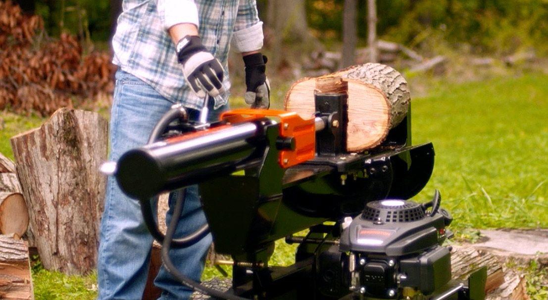 Intro to hydraulic log splitters modern fireplace wood
