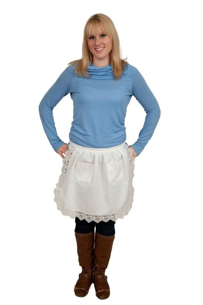 Amazon.com - Ecru (Off-white/beige) Lace Deluxe Victorian Maid  sc 1 st  Pinterest & Amazon.com - Ecru (Off-white/beige) Lace Deluxe Victorian Maid ...