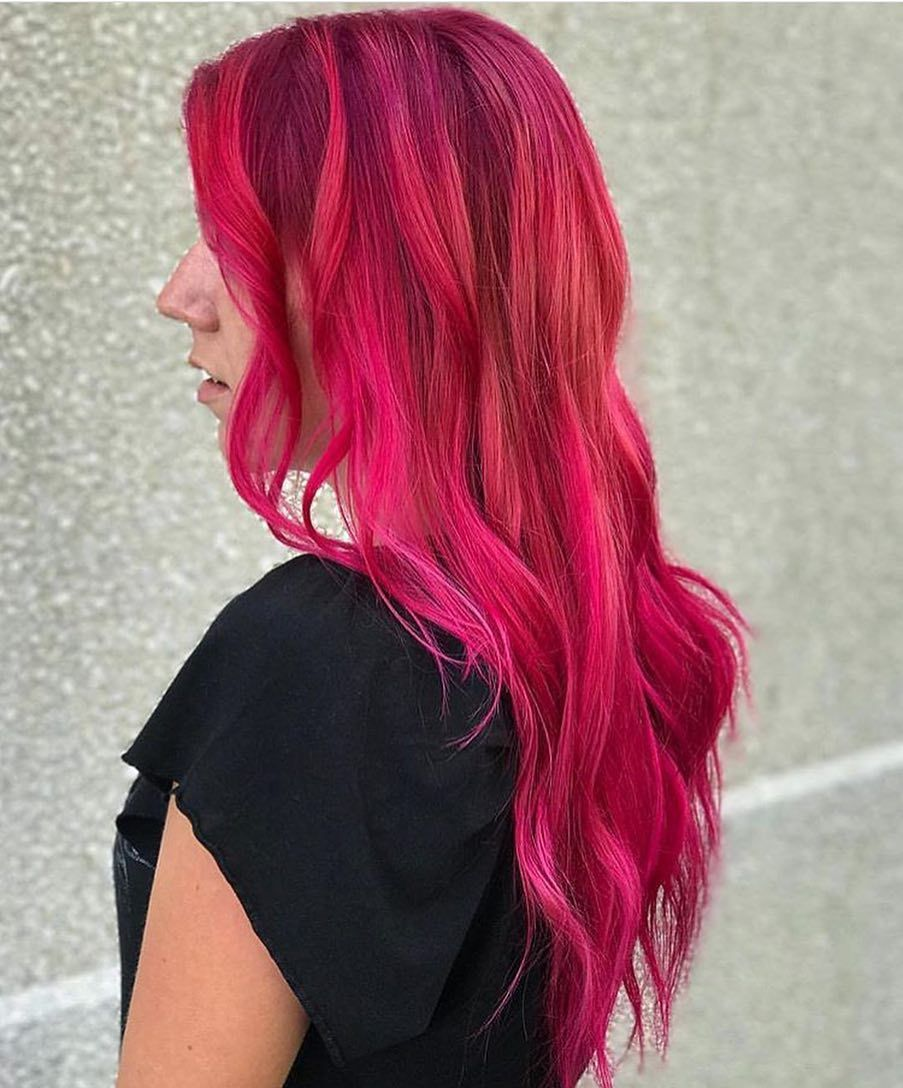 Sunset desires hair coloring colored hair and hair style