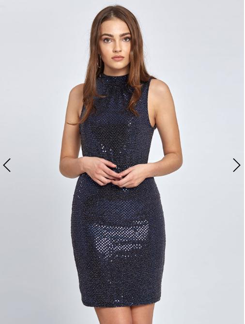 999aac214b6d Mini μεταλλιζέ μπλέ φόρεμα απο τα Celestino! Μόνο με 19.95€ απο 24.95€  αρχική