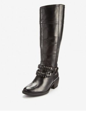 Hush Puppies Penine Leather Knee High Boots - Black, http://www.littlewoods.com/hush-puppies-penine-leather-knee-high-boots---black/1102351377.prd    £135.00