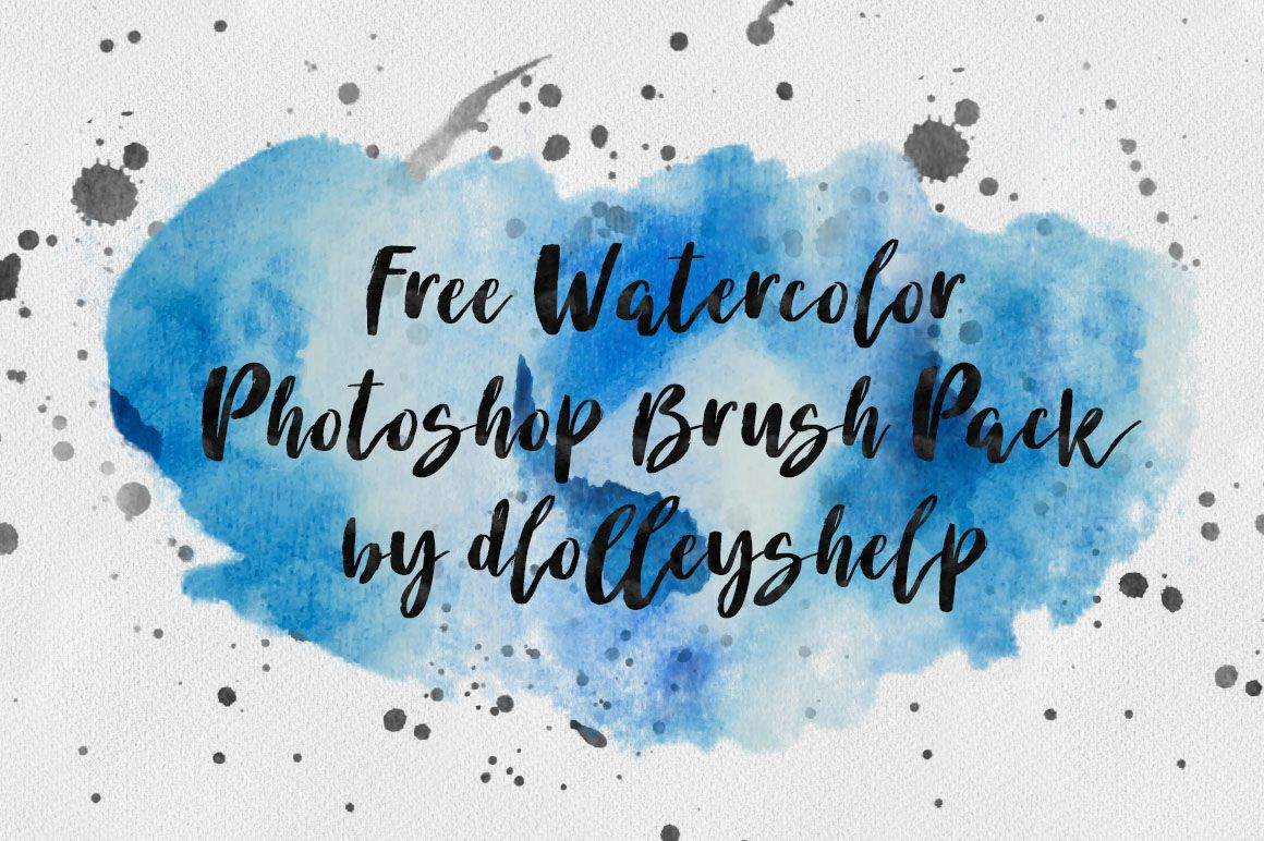 Free Watercolor Brush Pack Photoshop Watercolor Photoshop