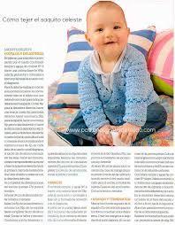 Resultado de imagen para tejidos para bebes varones 2 agujas con patrones 3 a 6 meses