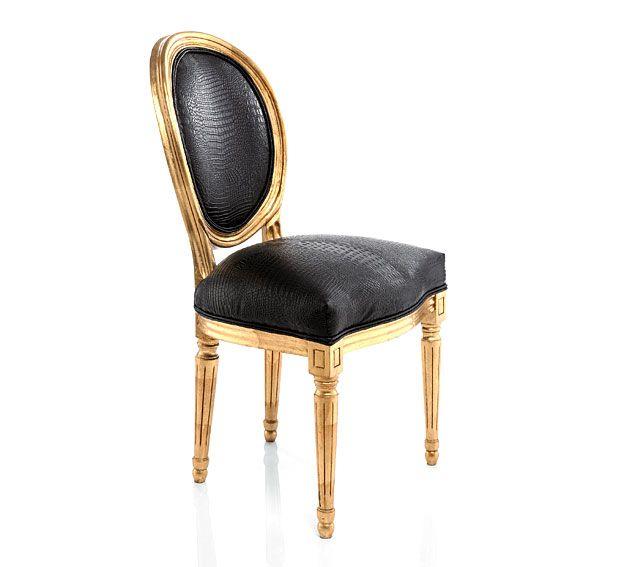 Silla Louis gold - Chair Louis Gold