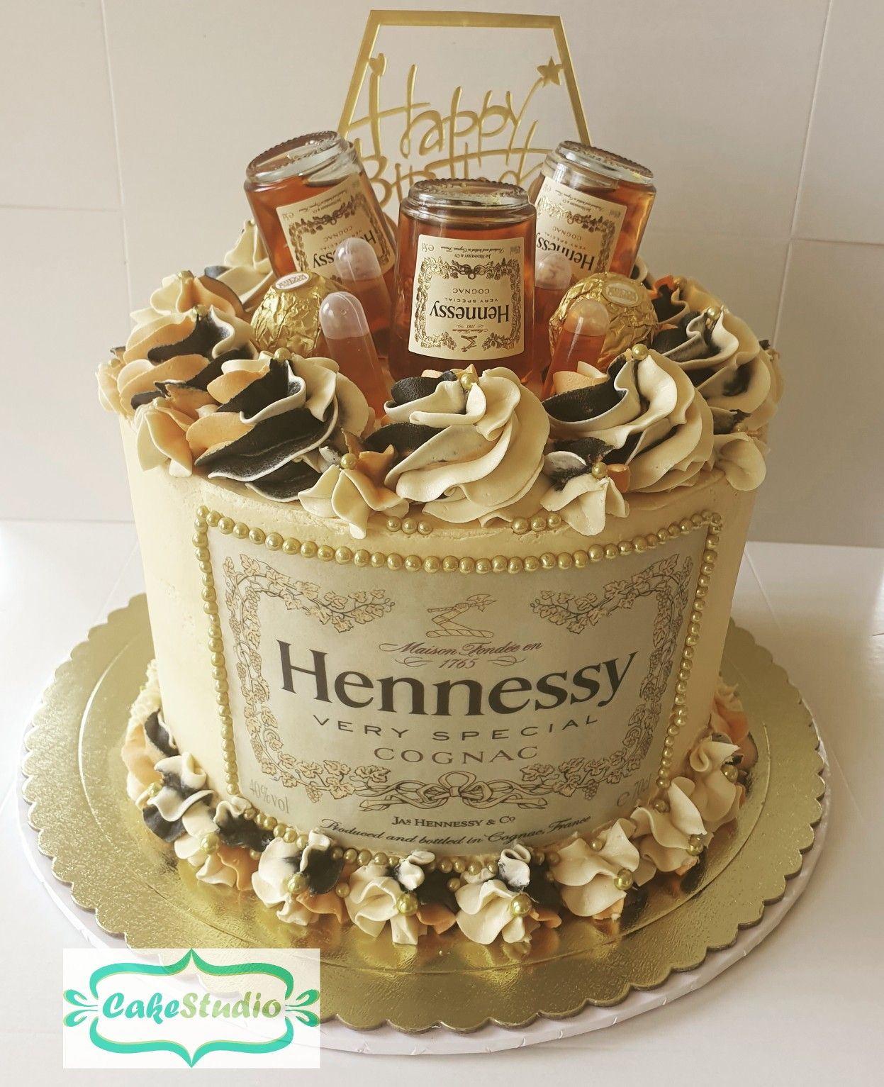 Hennessy cake hennessy cake birthday cake for him
