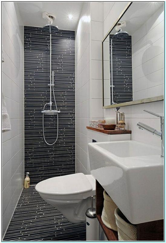 Kleine 1 2 Badezimmer Ideen Badezimmermobel Dekoideen Mobelideen Kleine Badezimmer Design Gaste Wc Gestalten Kleines Bad Mit Dusche