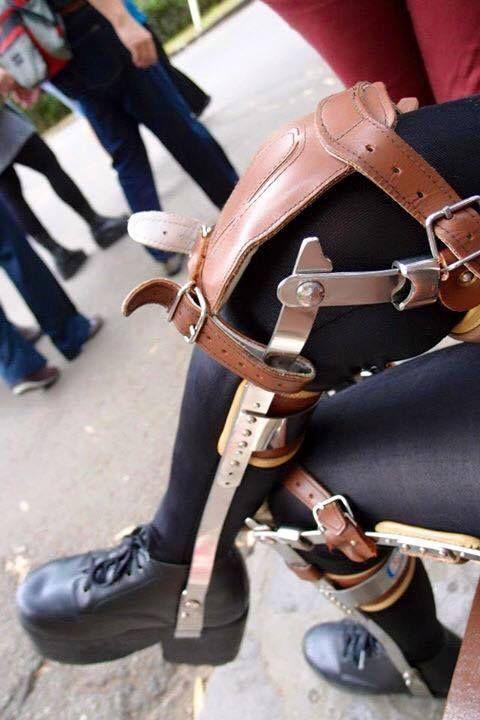 Polio Leg Braces Braces Pinterest Legs