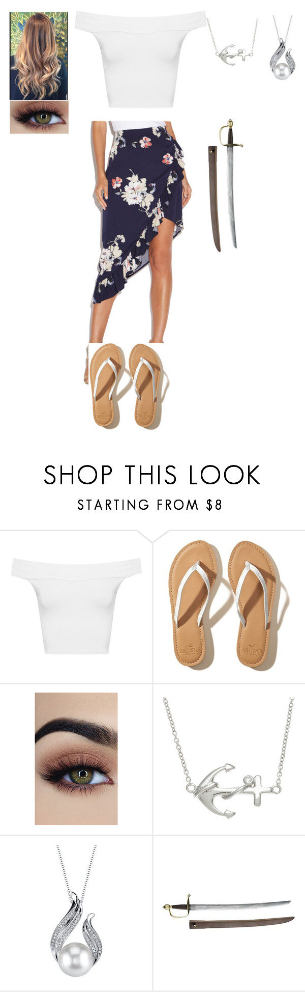 """""""Meeting the Queen of Hearts"""" by thisisme129 ❤ liked on Polyvore featuring WearAll, Hollister Co. and La Preciosa"""