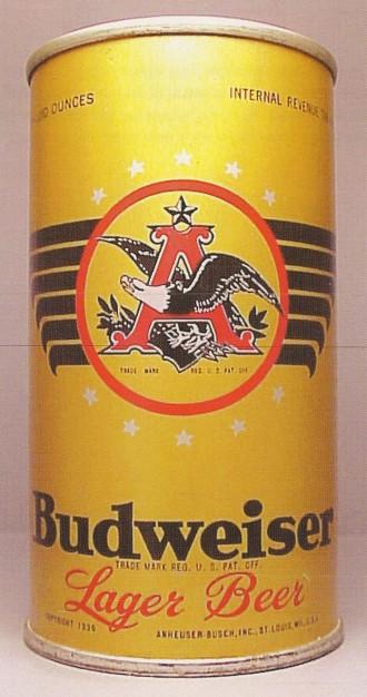 Budweiser Beer Can From Anheuser Busch Flavored Beer Budweiser Beer Beer