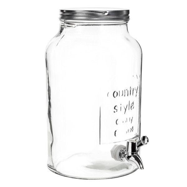 Bocal boisson en verre h 30 cm maisons du monde wish list home pinterest pots et lunettes - Verre avec paille maison du monde ...