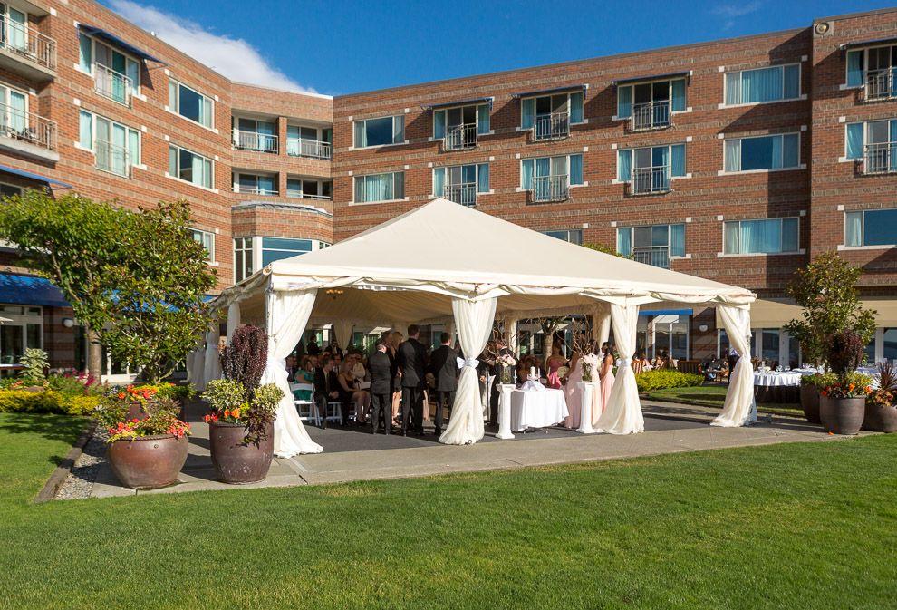 Olympic Terrace Tent At The Woodmark Hotel Woodmarkweddings