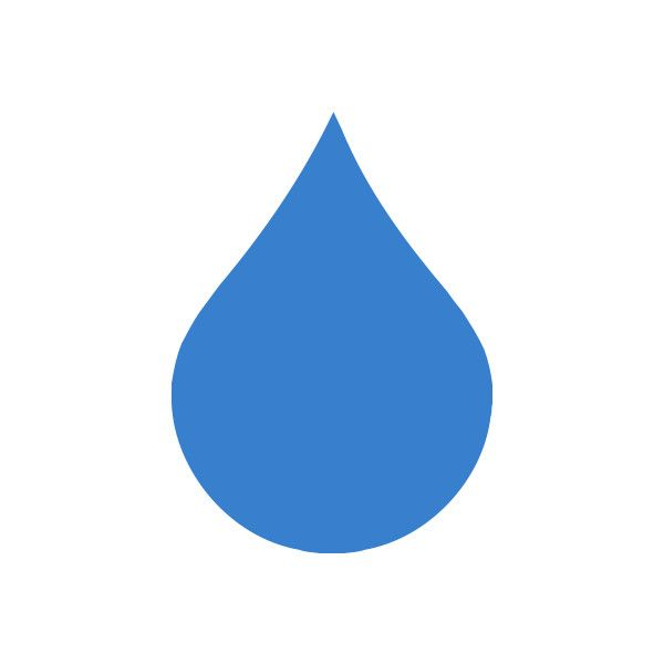 Free Clipart of a single rain droplet - search and ...