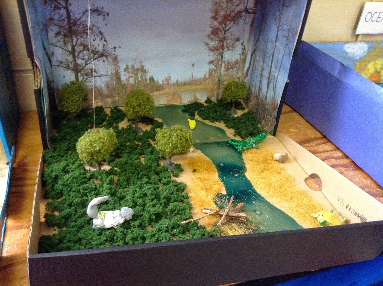 Swamp Diorama Gallery