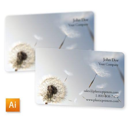 Dandelion Business Card Free Template File Download Free Business Cards Free Business Card Templates Business Card Template