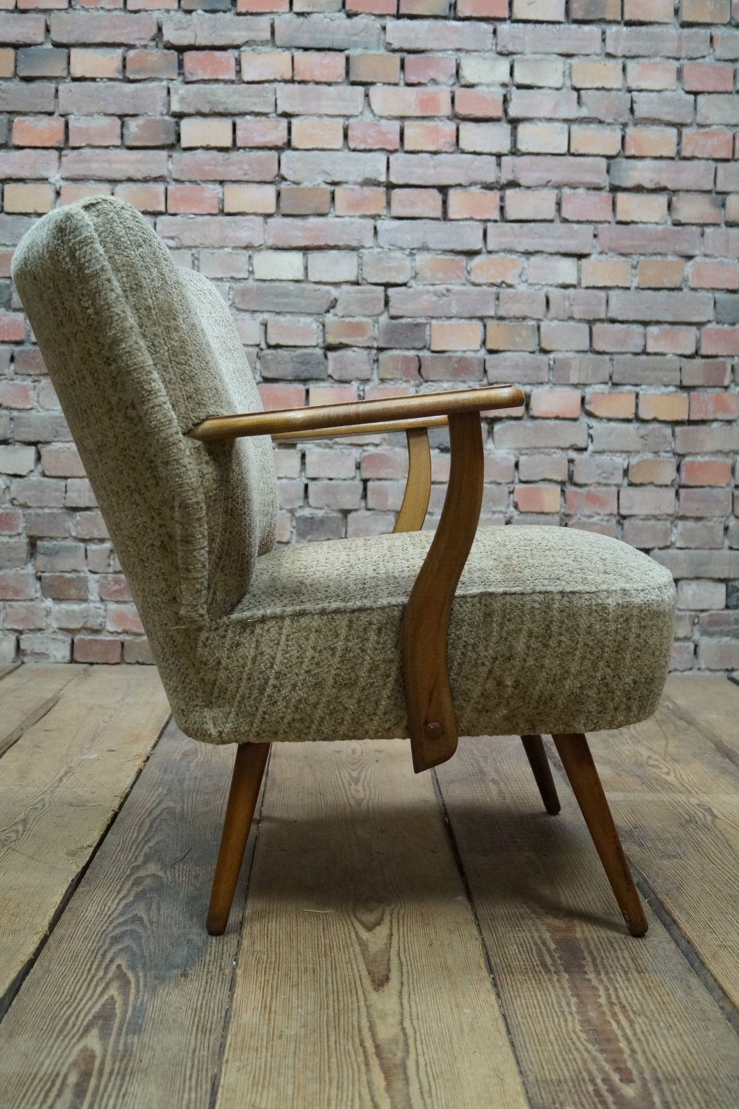 Details about 60s Rockabilly COCKTAIL ARM CHAIR