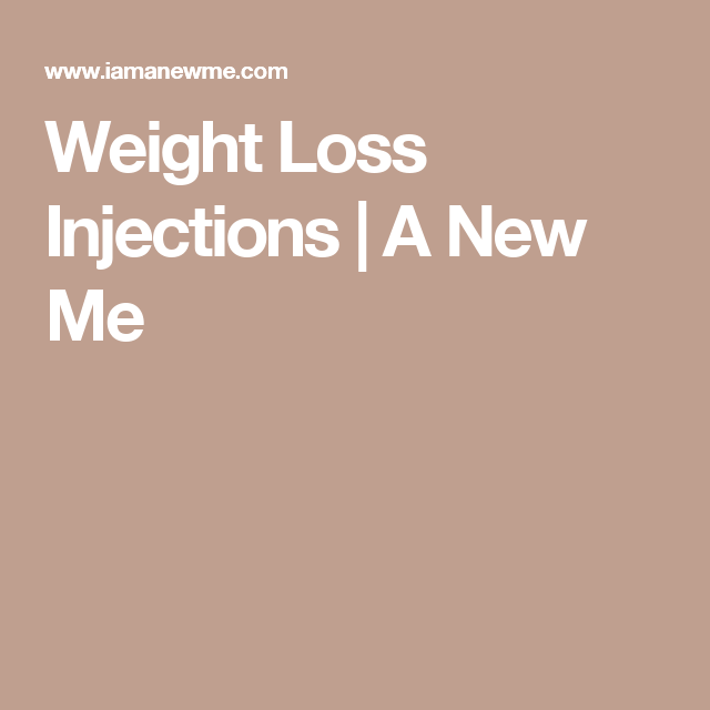 Weight Loss Injections | A New Me