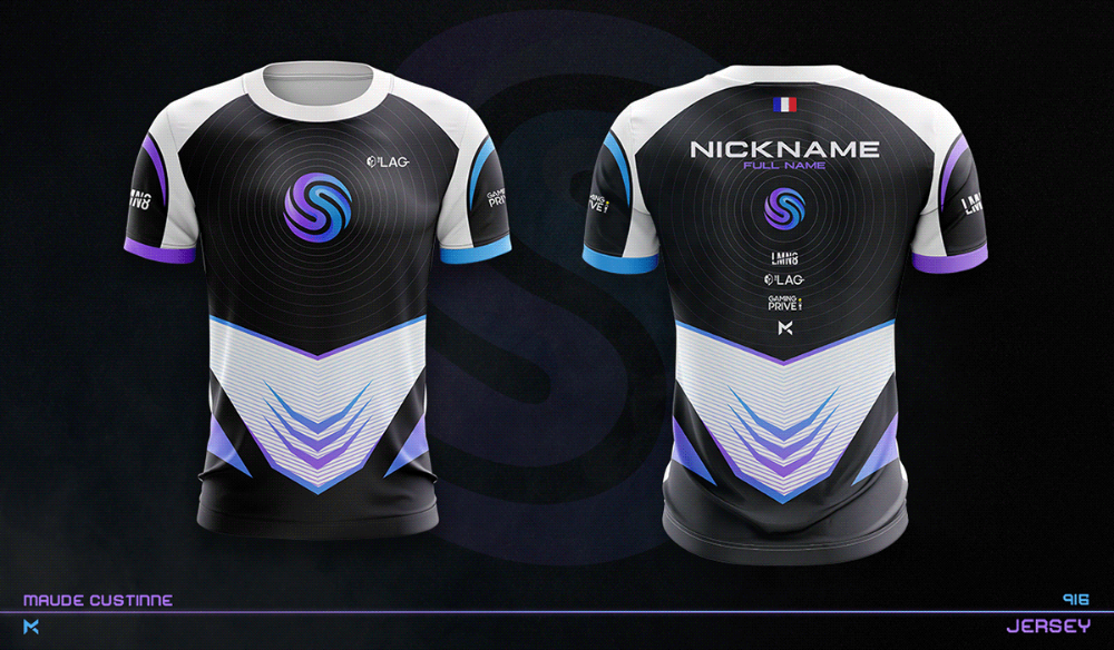 Download Jersey Esport Team Mockup On Behance Sports Jersey Design Sport Shirt Design Team Shirt Designs