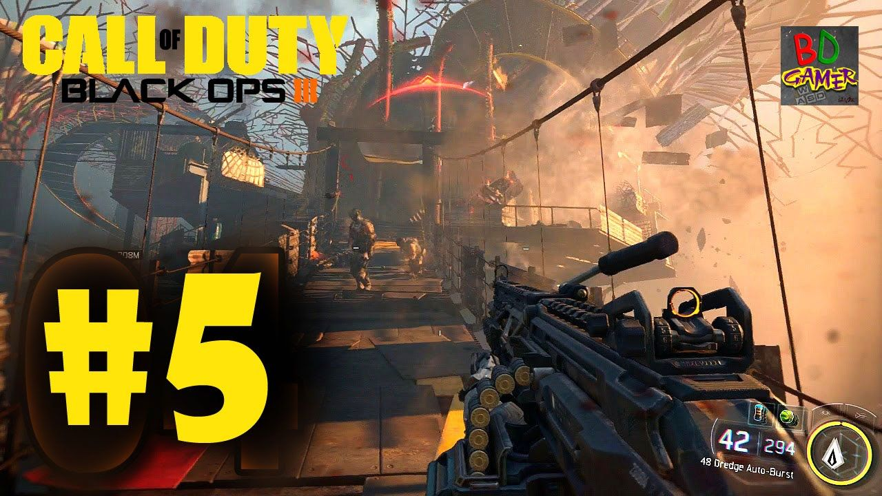 Call of Duty  Black Ops 3 - Mission 5 (BO3 Campaign Gameplay)