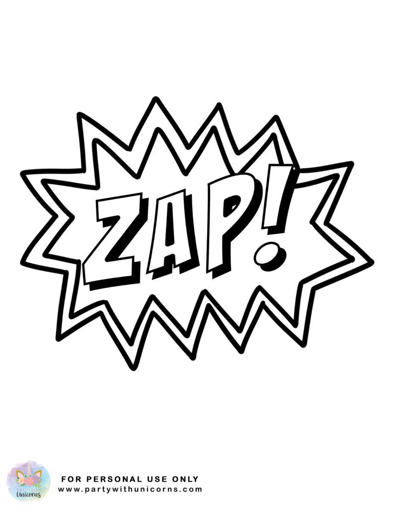 Superhero Coloring Pages - Superhero Actions   Clip art ...