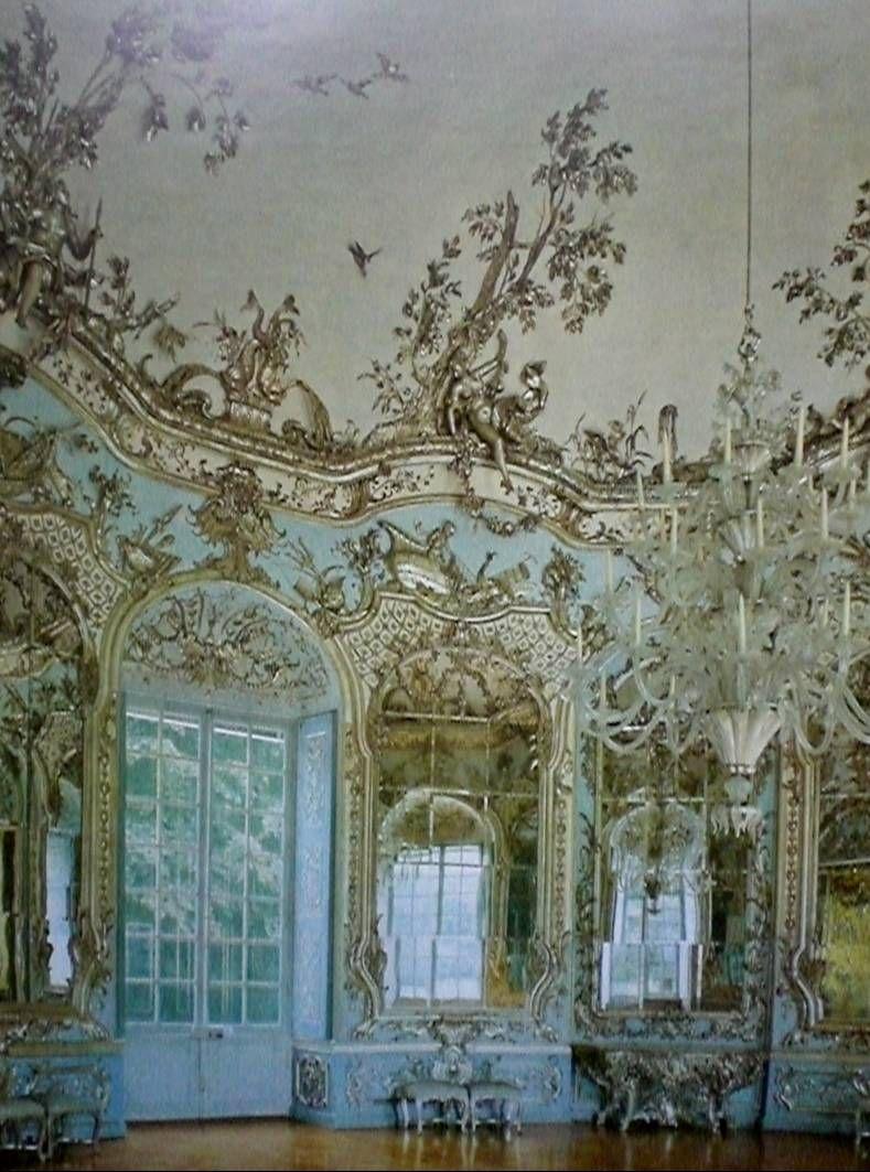 Francois De Cuvillies Salle Des Miroirs De L Amalienburg Chateau De Nymphenburg A Munich 1734 Miroir Chateau Vouivre