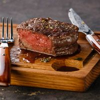 Filet Mignon with Blue Cheese and Cabernet Sauce Recipe   Wine Pairing   Gold Medal Wine Club