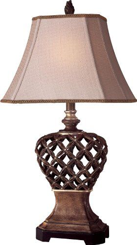 Save $ 9.42 order now Ambience 10821-0 Traditional/Classic Accent Table Lamp Rus