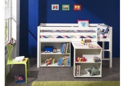 Magnifique lit combiné pour enfant composé d un bureau et d une