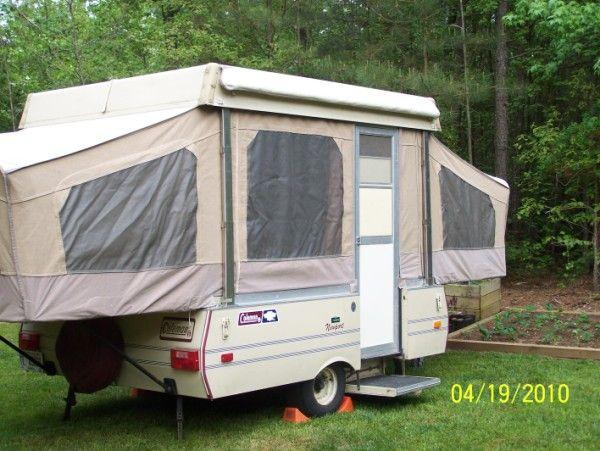 1986 Coleman Newport Pop-up Camper | CAMPER spots! | Popup camper