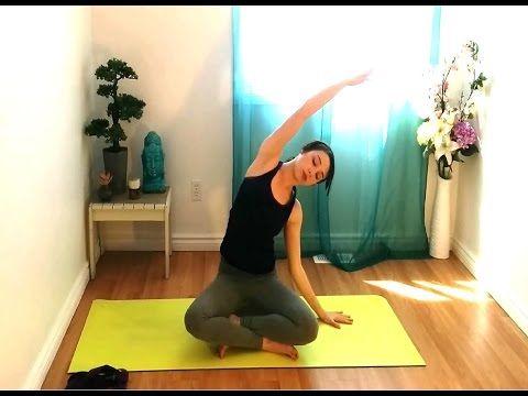 gentle hatha beginner yoga class  building a strong