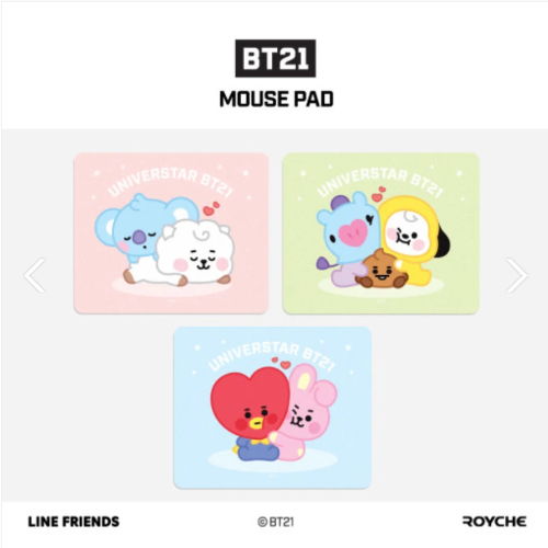 BTS BT21 BABY OFFICIAL MOUSE PAD In 2020