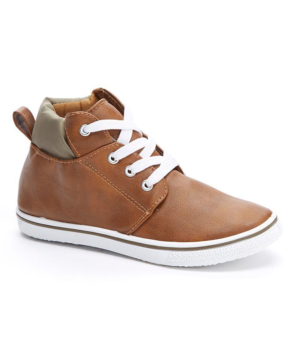 GX by Gwen Stefani Brown Contrast Hi-Top Sneaker