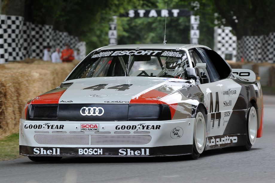 Audi 200 quattro Trans-Am Aged beauty.