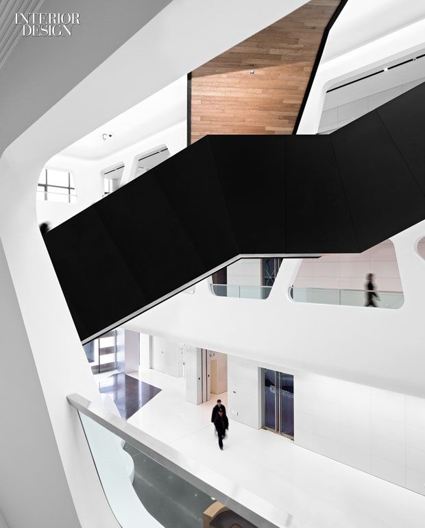 Hallucinate design office dreams up the interiors at china   maike group towers by interdesign associates also rh pinterest