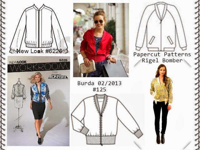 Fashion Trend Bomber Jacket DIY