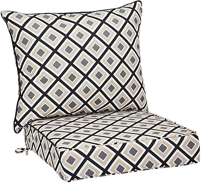 AmazonBasics Deep Seat Patio Seat and Back