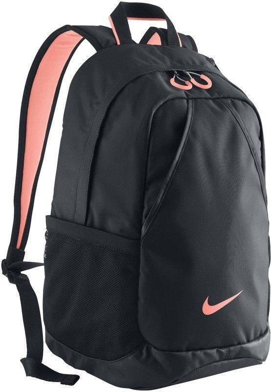 nike varsity backpack blackatomic pink rucksack