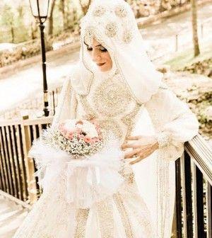 Russische muslimische Bräute
