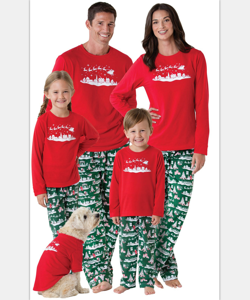 Family Look Sets Christmas Pajamas Matching Mother Daughter Clothes Father  Son Mom Family Christmas Pajamas Family Matching 05c1b4d7c