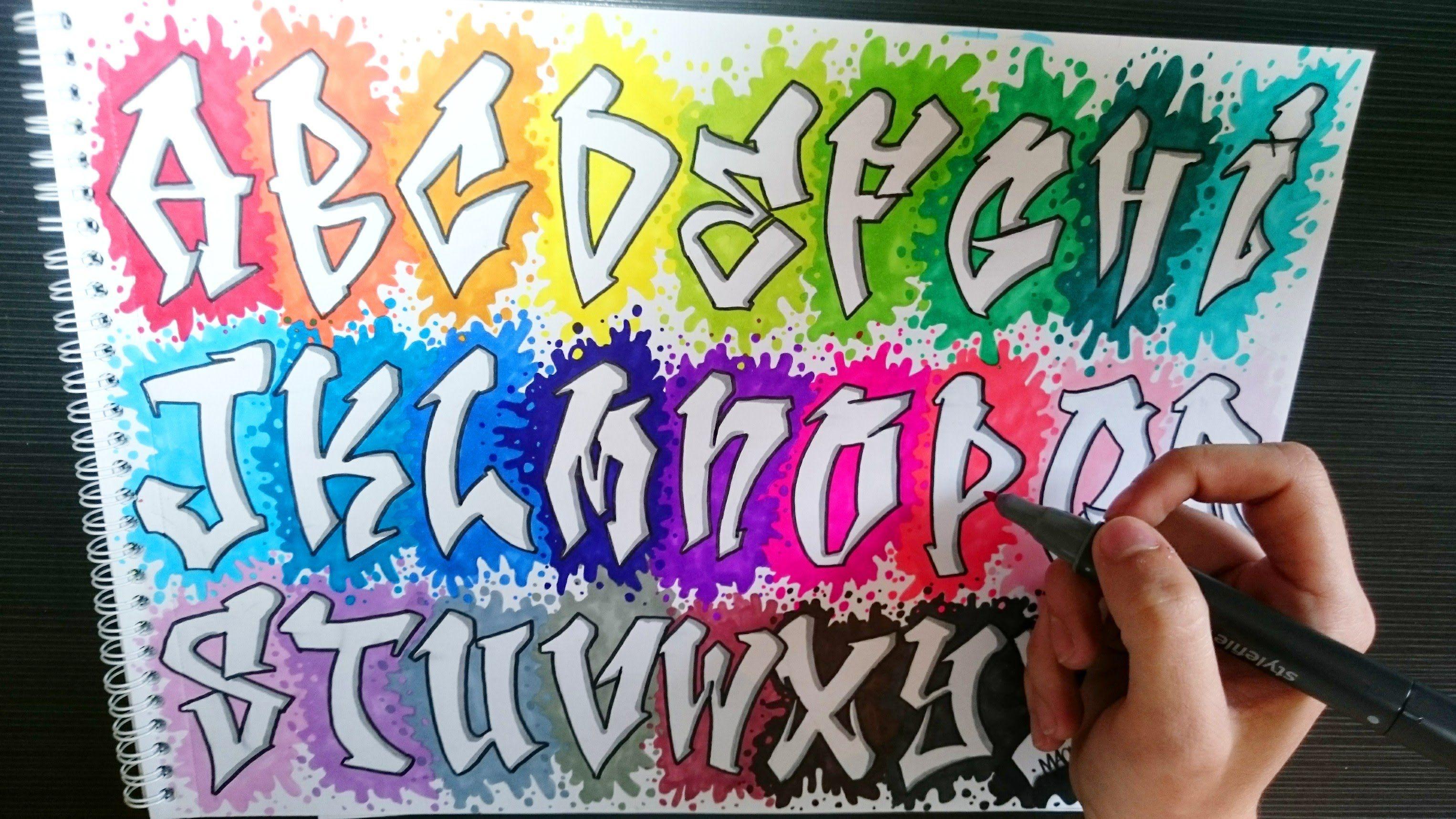 Abecedario De Letras De Graffitis Abecedario En Graffiti