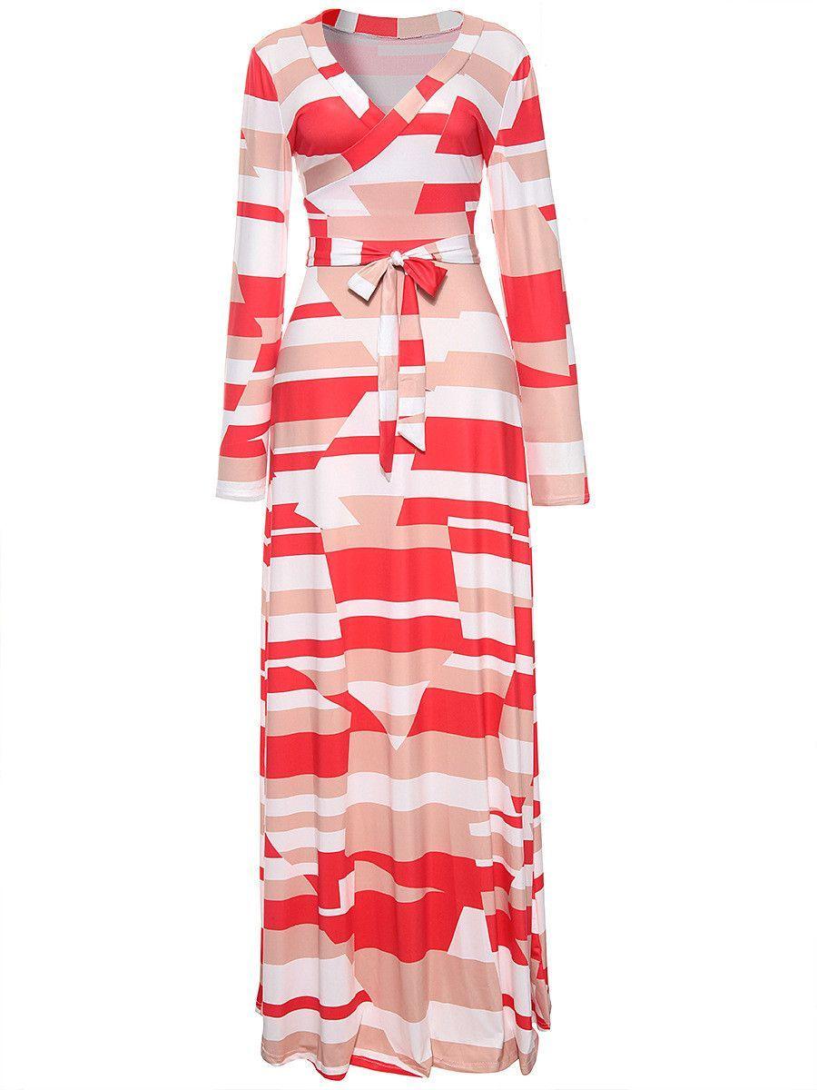 Geometric pattern maxi dress in clothes pinterest dresses