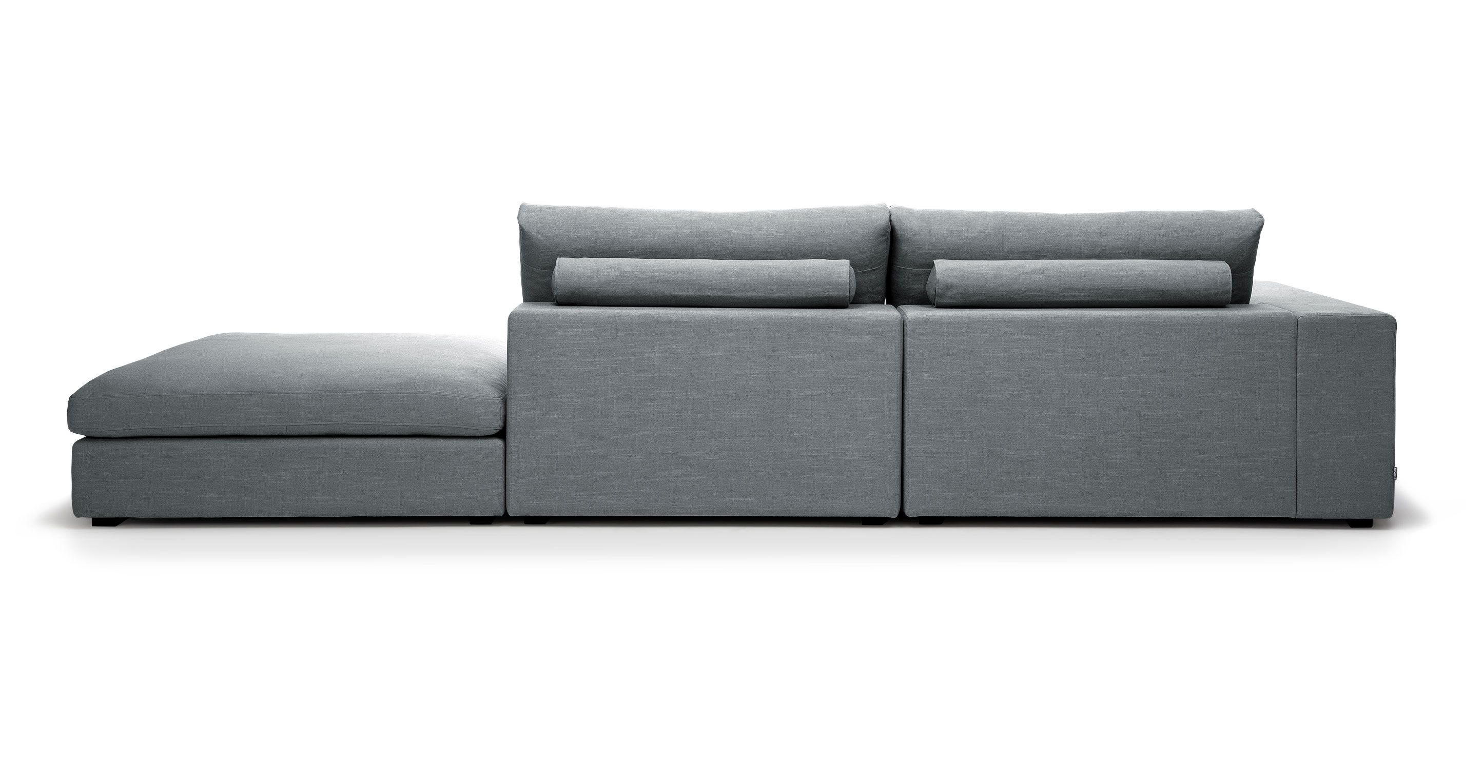 Gray Contemporary Sofa Cube Contemporary Furniture