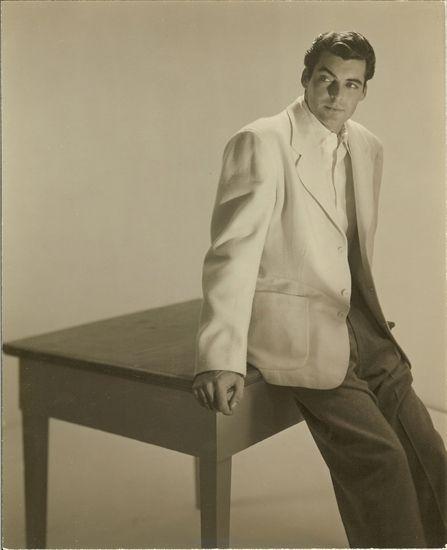 Rory Calhoun, 1947, photographed by George Platt Lynes.