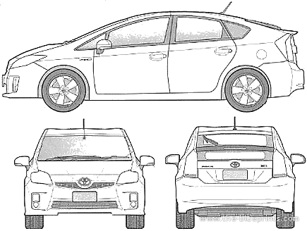 Image Result For Toyota Prius Vector Cars Graphics Cars Toyota