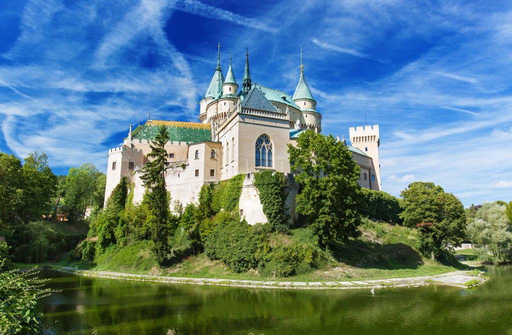 Bojnice Castle, Slovakia jigsaw puzzle in Castles puzzles