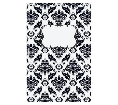 Black And White Damask Bulletin Kit 50 Count 15 99
