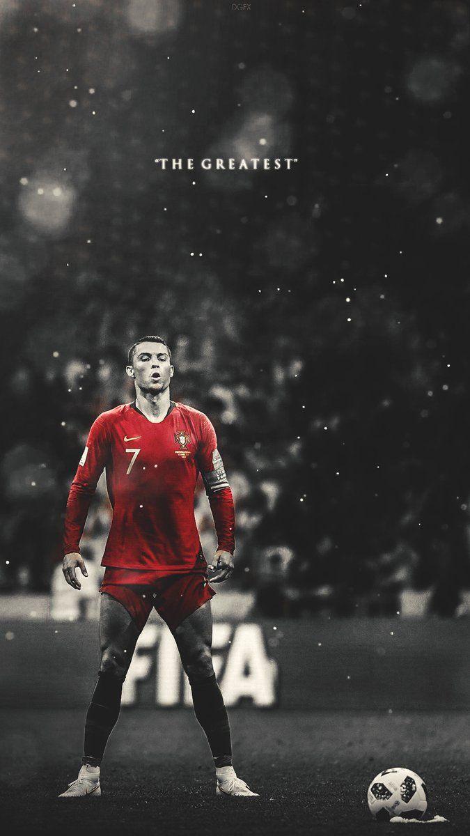 Cristiano Ronaldo Taking Free Kick In Portugal Vs Spain Fifa World Cup 2018 Ronaldo Wallpapers Cristiano Ronaldo Ronaldo