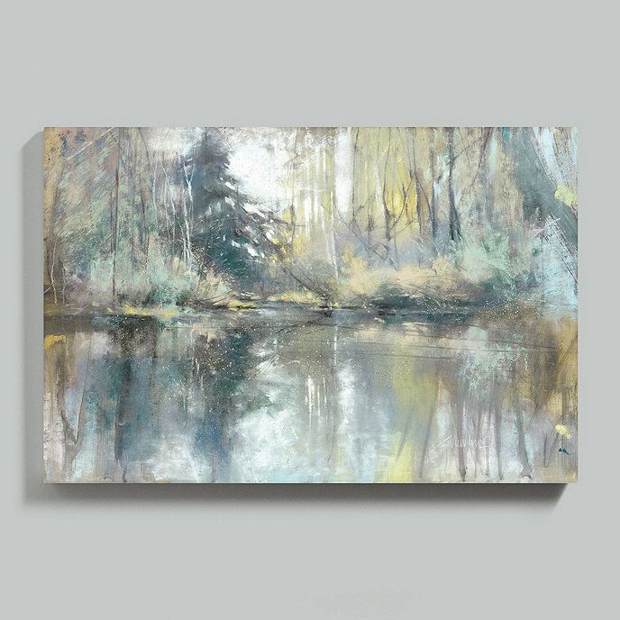 Forest Reflection Art