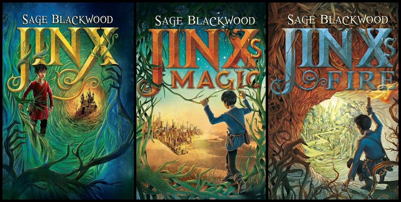 Jinx Series by sage blackwood